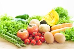 たまごと野菜は相性抜群!