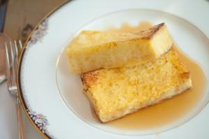 たまごとスーパーフード(ココナッツオイル)の組み合わせでつくるフレンチトースト