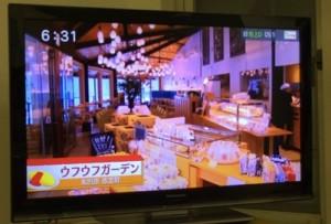 ufu uhu gardenが地元の情報番組で紹介されました!!