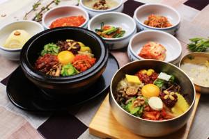 韓国料理にも紅花たまごでさらに美味しさUP♪