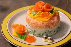 縁起の良い意味がこめられたひな祭りの食べ物!お寿司ケーキのレシピもご紹介します♪