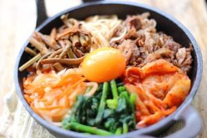 ホットプレートで簡単楽しい卵料理!ビビンバ編!!