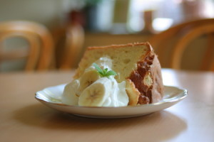 完熟バナナのシフォンケーキを作ろう!