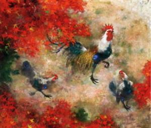 群鶏の画家、清原啓一とは?