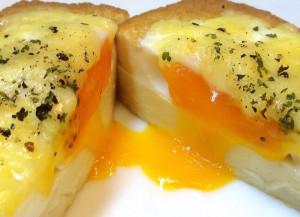 SNSで話題の厚揚げチーズ卵を作ろう