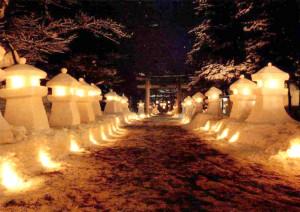 上杉雪灯篭まつりが開催されます!
