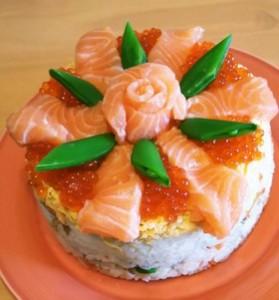 寿司ケーキでひな祭りを飾ろう!