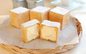 シュークリームの日!四角いシュークリームを作ろう!