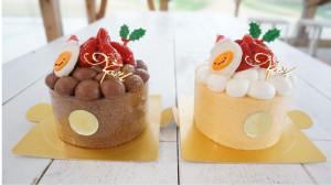 クリスマスケーキはウフウフガーデンで!