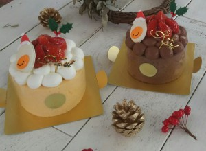 今年最後の一大イベント「クリスマス」はウフウフガーデンのクリスマスケーキで!