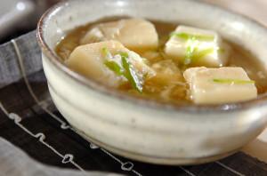 卵白活用レシピ第4弾!代謝を上げるあったかはんぺんとろみスープの作り方