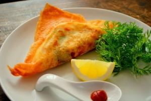 紅花たまごでチュニジアのたまご料理・ブリックの簡単レシピ
