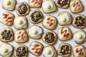 フォトジェニック!!目玉焼きトースト風クッキーを作ろう!