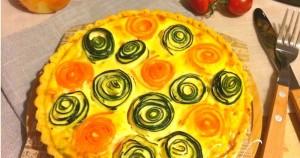 華やかな夏野菜のキッシュパイを作ろう!