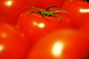 トマトの日に卵と一緒に