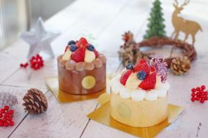 ウフウフガーデンでクリスマスケーキの予約販売が始まります