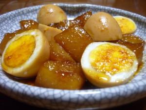 トロトロ大根と卵のこってり煮